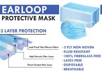 EARLOOP FACE MASK 20 CT